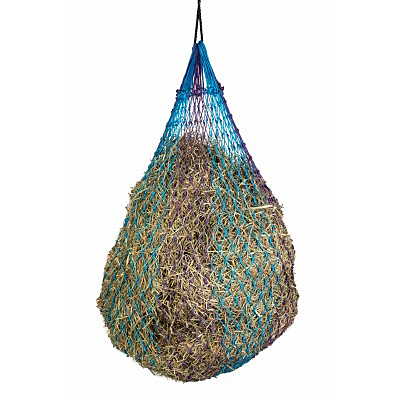 Millstone Slow Feed Hay Net-blue purple
