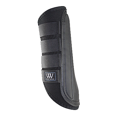 Black Woof Wear Single-Lock Brushing Boot