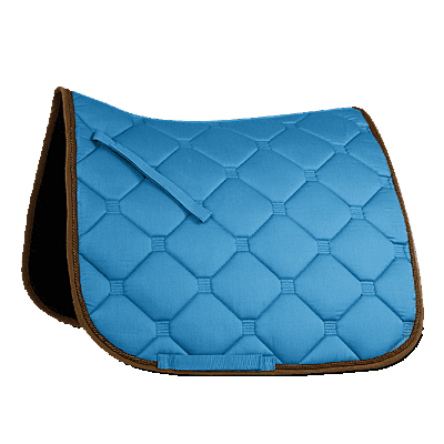blue/brown Waldhausen ESPERIA Saddle Pad