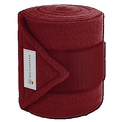 Waldhausen ESPERIA Fleece Bandage-Ruby Red