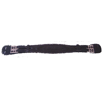 Bobby's English Tack Black Leather Dressage Girth 130-D