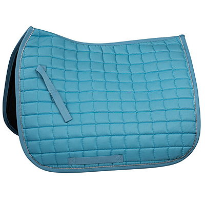 delphinium blue/silver Horze Dressage Saddle Pad