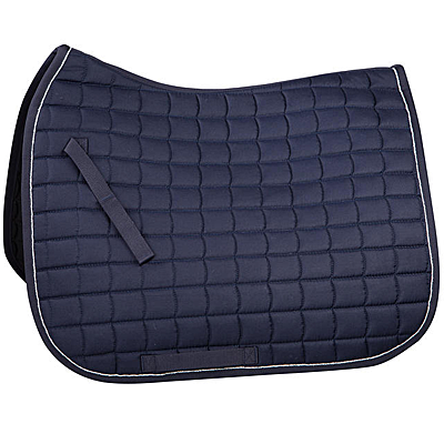 dark navy/silver Horze Dressage Saddle Pad