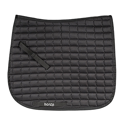 horze black bristol dressage saddle pad