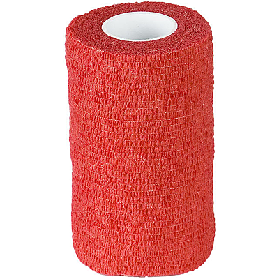Red Finn-Tack Flex Bandages