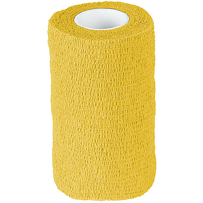 Yellow Finn-Tack Flex Bandages