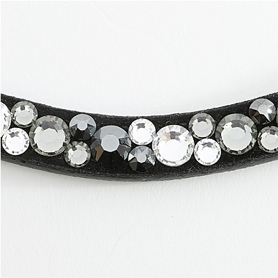 "Kavalkade Browband ""Sparkle"" with many small rhinestones"