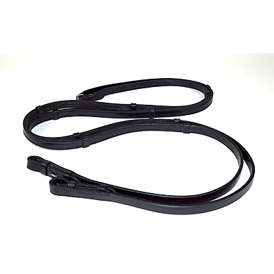 Nunn Finer Anatomical Rubber Lined Reins With Stops