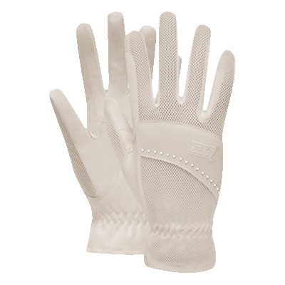 Waldhausen Arosa Riding Gloves - White