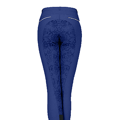 Waldhausen Royal Blue Vienna Full Seat Breeches
