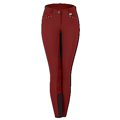 Ruby Red Waldhausen Vienna full seat breeches