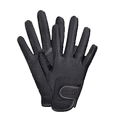 Waldhausen Metropolitan Riding Glove - Black