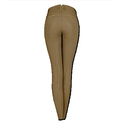 Taupe Waldhausen Elly Silicone Full Seat breeches