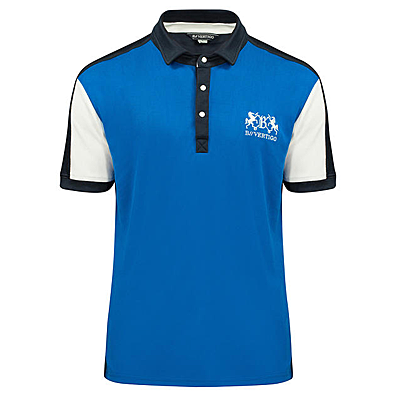 garreth mens polo shirt front