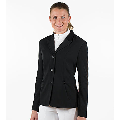 Horze Black Yvonne Women's Show Jacket