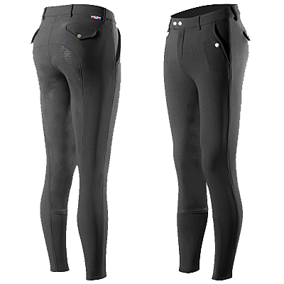 Horze Grand Prix Men's Silicone Full Seat Breeches