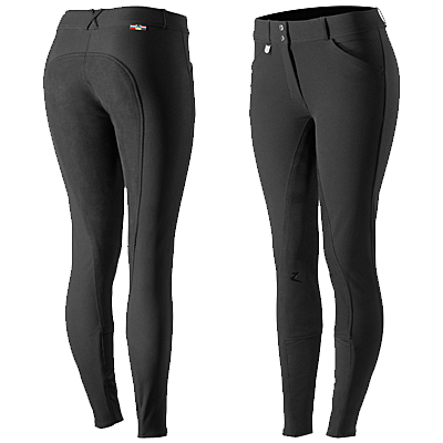 Horze Grand Prix Women's Leather Full Seat Breeches