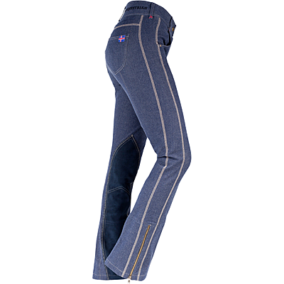 Horze Aleiga Women's Denim Jodhpur Breeches - 36522