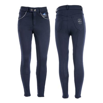 Horze Jen JR Children's Knee Patch Breeches - 36597