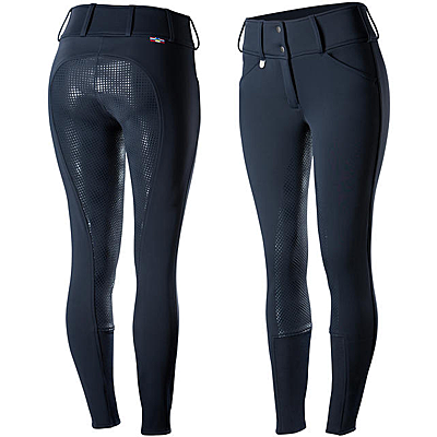 Horze Grand Prix Women's Thermo Softshell Silicone FS Breeches