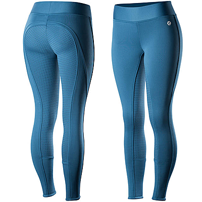 Horze Active Women's Silicone Full Seat Tights