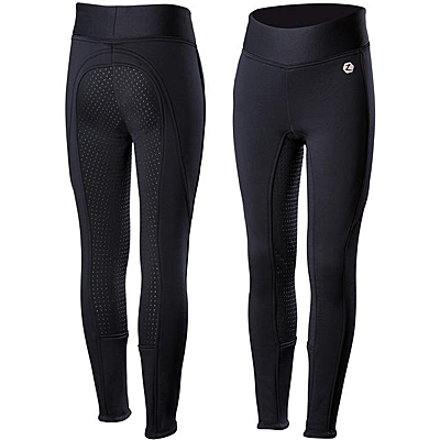 Horze Active JR Silicone Full Seat Tights