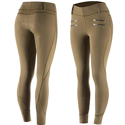 SPBR Horze Hayden Women's Silicone Full Seat Tights