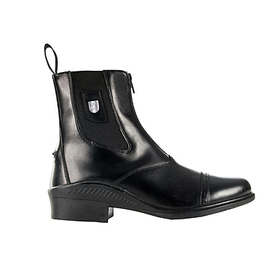 Horze Sydney Leather Front Zip Jodhpur Boots