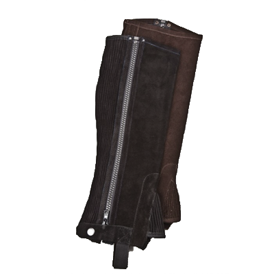 Royal Highness Genuine Suede Half Chaps - 3HC100S