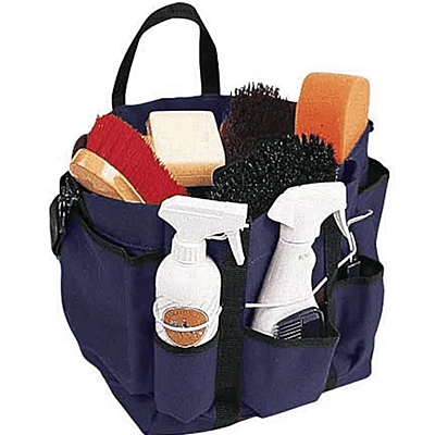 Navy Roma Deluxe Grooming Tote