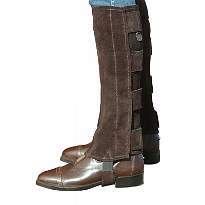 Ovation® EZE Tab Suede Half Chaps- Ladies'