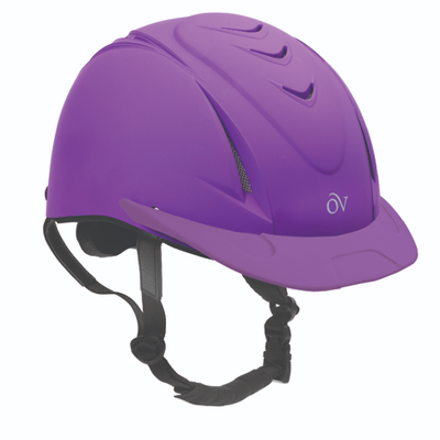purple schooler helmet