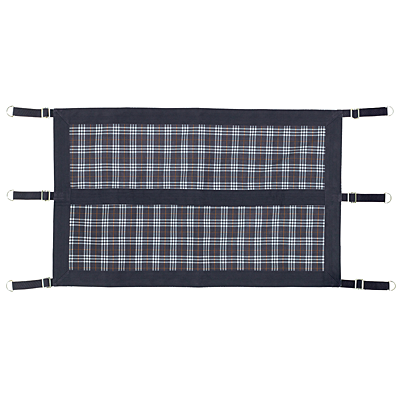 blue corn plaid stall guard