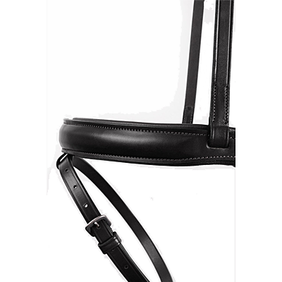 House of Montar Normandie bridle in black leather