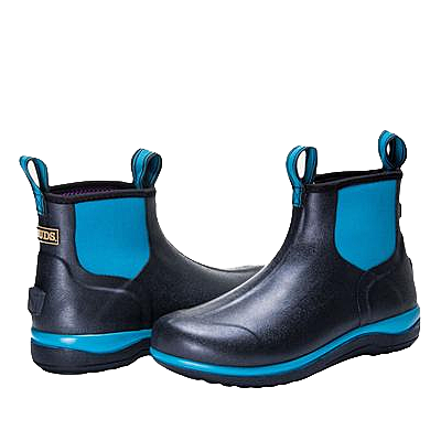 "noble outfitters women's muds 6"" blue"