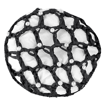 Waldhausen HAIRNET WITH PEARLS