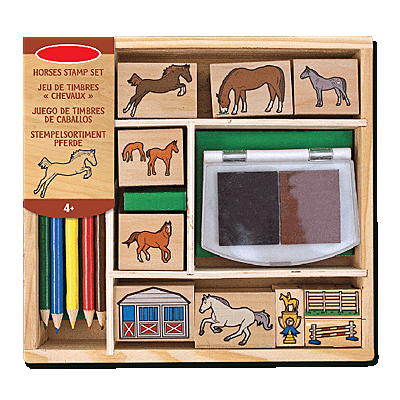 Waldhausen STAMP BOX - HORSES