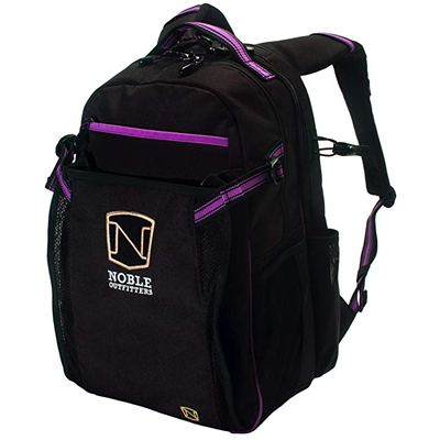noble outfitters ringside backpack black berry