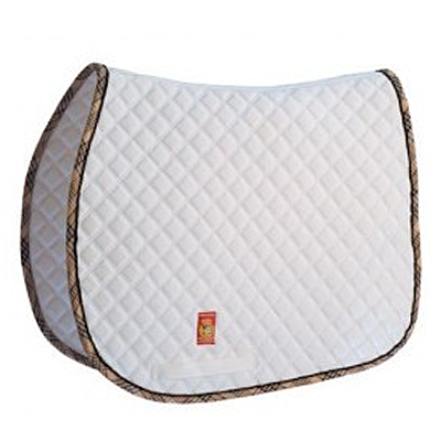 LÉTTIA w/ Baker Plaid Trim All Purpose Saddle Pad