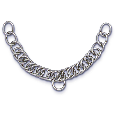Stainless Steel Heavy English Double Link Curb Chain 88-2500