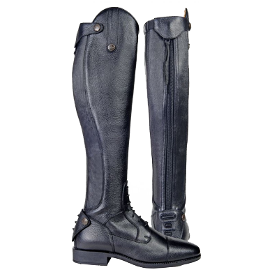 HKM Riding Boots - Latinium Style - Standard - Black