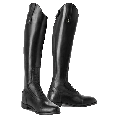 Tredstep Donatello Black Tall Boots