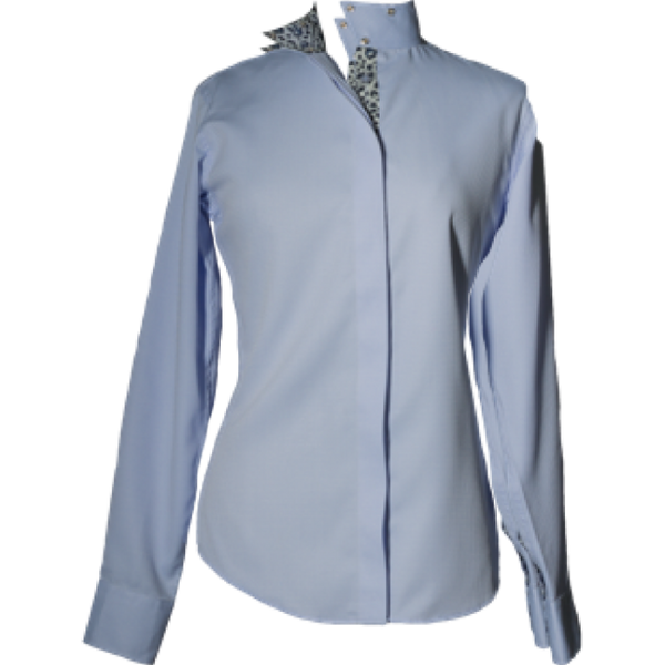 RHC Equestrian Ladies Dobby Coolmax Warp Collar Show Shirt - 68600