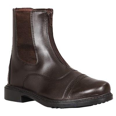 childrens front zip paddock boot