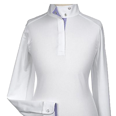 "Essex Beacon Hill Ladies Talent Yarn ""Halston"" Wrap Collar Show Shirt"