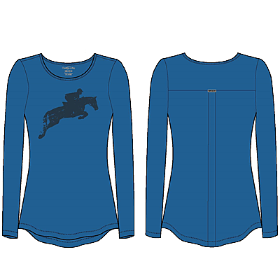 Chestnut Bay Spirit Discipline Long-Sleeve Tee