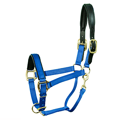 Intrepid International Chafeless Breakaway Halter Padded Crown and Nose