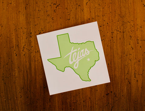 Tejas Texas sticker