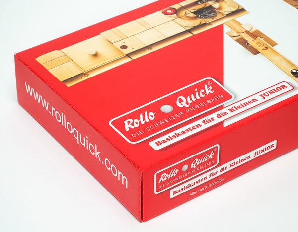 Rollo Quick | Kugelbahn Basiskasten JUNIOR