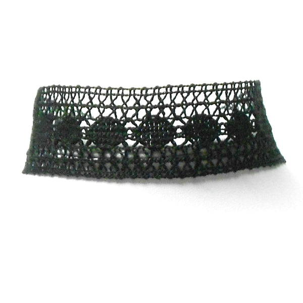 Black Lace Choker - The Lover's Knot Jewelry